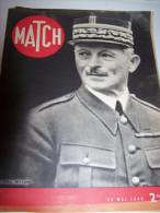 @ LE GENERAL WEYGAND MATCH 23 MAI  1940  MILITARIA - 1900 - 1949