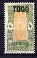 TOGO - N° 103* - PALMISTE - Togo (1914-1960)