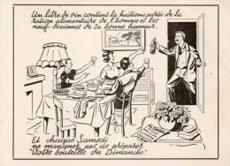 CP LEZIGNAN CORBIERES. Carte Commande. Votre Bouteille Du Dimanche. Par Combes, Négociant. 1963 - France