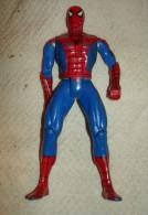JOLIE FIGURINE SPIDERMAN 13 CM MARVEL 1994 ARTICULE BON ETAT   ARTICULE TETE, BRAS , COUDES  , JAMBES , GENOUX - Spider-Man