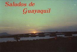 Pk Guayaquil:156:A Nice Sunset - Equateur