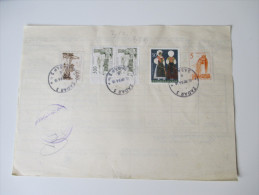 Jugoslawien 1964 Declaration En Douane. Paketschein / Paketkarte Zadar - Eppenheim - 1945-1992 Socialist Federal Republic Of Yugoslavia