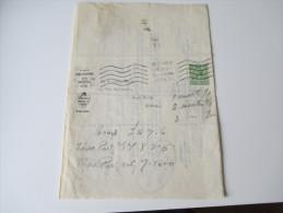 GB 1933 Royal Insurance Wallasey KFZ Versicherung Motor Renewal Notice. Interessantes Dokument - 1902-1951 (Könige)