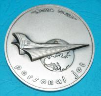 AERO - Roma Club - Personal Jet - 1 Faro D/Oro, 21 March 1984, Berlin - 6 Cm Diameter - Sonstige