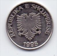 ALBANIA COIN 5 LEKE  1995- USED - Albania