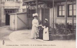 CONTREXEVILLE,, La Princesse Hélène à La Buvette, Non Circulée - Vittel Contrexeville