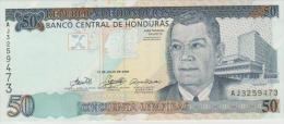 Honduras P.94b 50 Lempiras 2006  Unc - Honduras