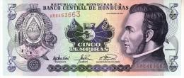 Honduras P.85c   5 Lempiras 2003  Unc - Honduras