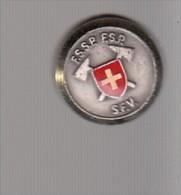 Pin´s   SUISSE -   FSSP  FSP  SFV - Pin