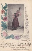 Croatie - Hongrie - Karlovac - Type Femme Paysanne - Coquelicot - Fine Postmarked 1903 Karlovac Zagreb - Croatie