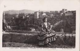 Espagne - Granada - Gitana - Mirador - Editor L. Roisin - Granada