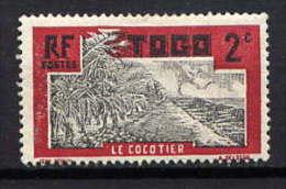 TOGO - N° 125* - LE COCOTIER - Togo (1914-1960)