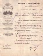HAUTE GARONNE - LACOURTENSOURT - PAPETERIE DE LACOURTENSOURT - LETTRE - 1919 - Imprimerie & Papeterie
