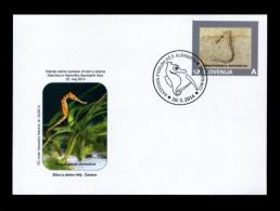 Slovenia 2014 :  Prehistoric Animals,  Fossil  Paleontology, Sea Horse - Vor- U. Frühgeschichte