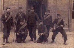 Guerre 14/18 Armée Française  Oct 1914  Groupe De Soldats à Fontenay Correspondance Vers Anthieu - Guerre 1914-18