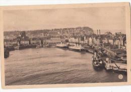 1930 CIRCA DIEPPE LE PORT ET LE QUAI HENRY IV - Dieppe