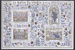 Bloc Salon 2014 Histoire De France Saint Louis, Bouvines, Prise De Tournoël Et Bataille De Muret 1.65 Et 1.45 (X2) Neuf - Ongebruikt