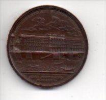 REF 1  : Médaille Métal Nouveau Magasin 10 Rue Du Quatre Septembre 1950 Paris Argentina - Professionnels / De Société
