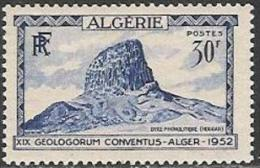 Algérie / Algeria (1952) - Dyke Phonolitique Du Hoggar / Phonolitic Dyke. Congrès Géologique Internatiional. - Volcanes