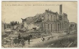 FISMES  -  Après Le Bombardement, Les écoles  -  Ed. OE,  N° 9 - Fismes