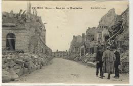 FISMES  -  Après Le Bombardement, La Rue De La Huchette  -  Ed. --,  N° -- - Fismes