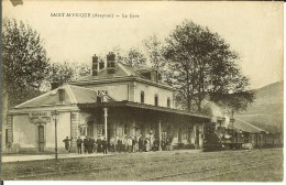 CPA SAINT-AFFRIQUE  La Gare 10462 - Saint Affrique