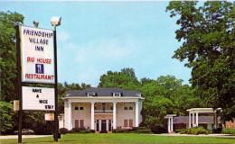 "Friendship Village Inn - Restaurant In The ""Big House"" - Hazlehurst, Georgia - Etats-Unis"