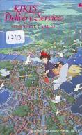 Télécarte Japon * 110-97687  * MANGA MIYAZAKI * KIKI´S DELIVERY SERVICE (12.931) Japan ANIME Phonecard - Film