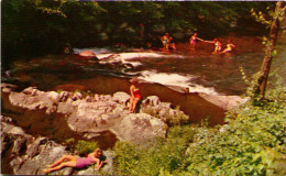 Swimming In Little River, Smokey Mountains National Park - Smokey Mountains