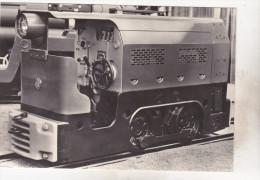 Czechoslovakia Old Uncirculated Postcard - Transport - Diesel Engine Mine-locomotive BND 15 - Trains