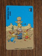 The SIMPSONS The Phonecard In Touch Telecom 1998 ( 200 ) ! - Cinema