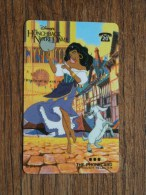 The HUNCHBACK Of NOTRE DAME The Phonecard In Touch Telecom 1998 ( 20 ) Disney! - Cinema