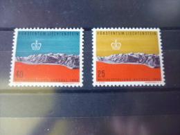 LIECHTENSTEIN TIMBRE DE COLLECTION  YVERT N°331.332 - Liechtenstein