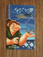 The HUNCHBACK Of NOTRE DAME The Phonecard In Touch Telecom 1998 ( 20 ) Disney! - Cinéma