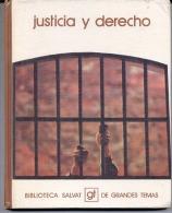 """BIBLIOTECA SALVAT Nº 52 """"JUSTICIA Y DERECHO"""" EDIT.SALVAT-AÑO 1973-PAG.142- FULL COLOR! TAPAS RÍGIDAS. OFERTA! GECKO - Encyclopedieën"""