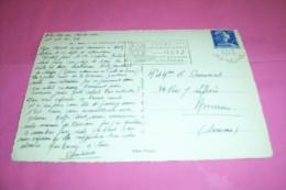 TIMBRE OBLITERATION FLAMME° 57  FOIRE INTERNATIONAL DE METZ  Ier QUINZAINE D'OCTOBRE LE 21 09 1959 - Marcophilie (Lettres)