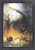 Guyana 1989 Sport, Olympics, Dali, Perf. Sheet, Used T.163 - Guyane (1966-...)