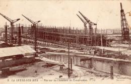 LA SEYNE-SUR-MER VUE SUR LES CHANTIERS DE CONSTRUCTION - La Seyne-sur-Mer