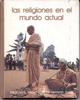 """BIBLIOTECA SALVAT Nº 36 """"LAS RELIGIONES EN EL MUNDO ACTUAL"""" EDIT.SALVAT-AÑO 1973-PAG.142- A COLOR! TAPAS RÍGIDAS. GECKO - Encyclopedieën"""