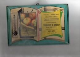 16 - COGNAC - BEAU GLACOIDE TURPAULT & BRUNET - FRUITS PRIMEURS- 38 BD DENFERT ROCHEREAU - Advertising (Porcelain) Signs