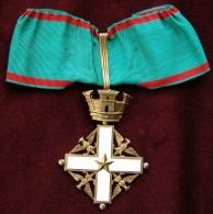 Collare Da Commendatore Al Merito Della Repubblica Italiana - Italie