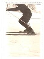 Sport - Ski - Skieur - Photo Originale - Format 9 X 6.2 Cm - Sport