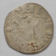 Philippe II Auguste , Denier Parisis Péronne - 1180-1223 Philippe II Auguste