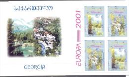 2001. Georgia, Europa 2001, Booklet, Mint/** - Georgia