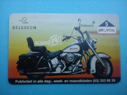P 353 Harley Davidson 512 L (Mint,Neuve) Tirage 1000 EX Rare ! - Belgique
