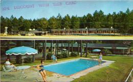 Alamo Plaza Motel Court - 4 Miles North Of Satesboro, Georgia - Etats-Unis