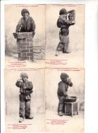 La Coquetterie Du Ramoneur - Série De 5 Cartes Postales - Bergeret - Bergeret