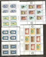 1976 Isola Di Man ANNATA,  YEAR  22 Valori In Quartina (63/84+BF2) MNH** Bl.4 - Isola Di Man