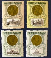 PARAGUAY Monnaie, Coins, Michel N° 1380/83. Neuf Sans Charniere. MNH - Coins