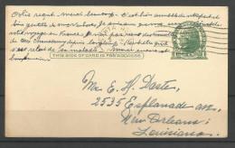 USA - CB106 - Carte Du 19/09/50 De Santa Rosa (Californie) Vers New Orleans - 1941-60
